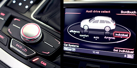 Audi Sound Booster Operation Drive Select
