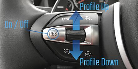 Control de crucero de la serie F-Series Sound Booster de BMW