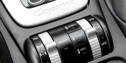 Selector de perfil de confort Porsche Cayenne 9PA