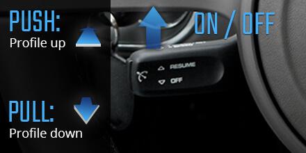 Control de refuerzo de sonido control de crucero Porsche Panamera