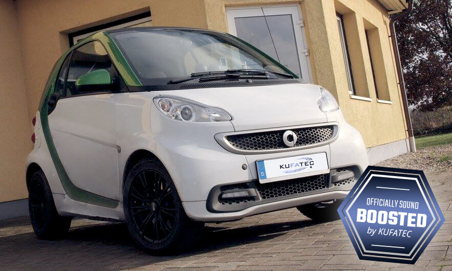 Electric Smart Fortwo With Kufatec Sound Booster Pro