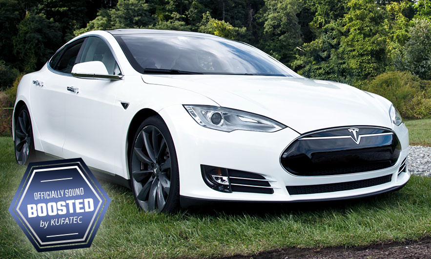 Tesla S P90d With Kufatec Sound Booster Pro Engine And Exhaust Electric